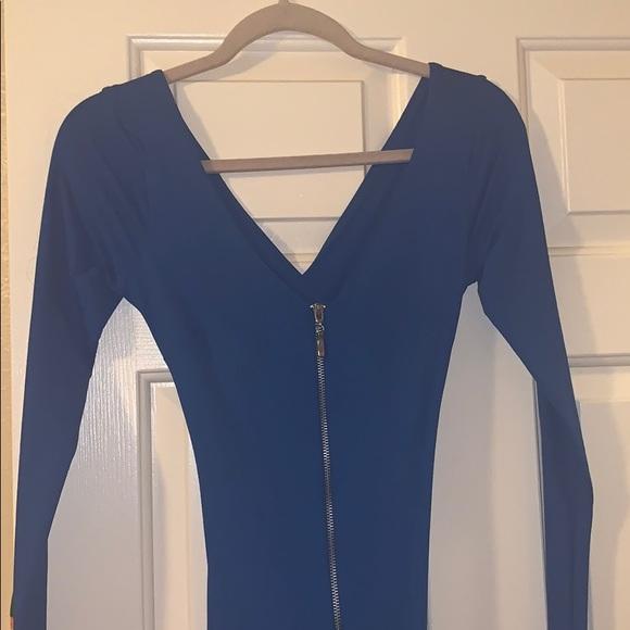 bebe Dresses & Skirts - Sexy blue midi
